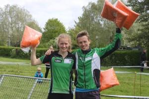 Emma og Tue vinder DM i sprintstafet
