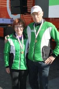 Bronze til Hans og Inger i H og D 75