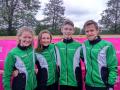 Mix sprint stafet holdet