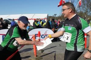 Veteraner skifter i Sprintstafetten